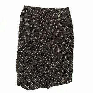 Anthropologie Eva Franco Waterfall Pencil Skirt